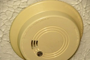 Is your smoke detector yellow?